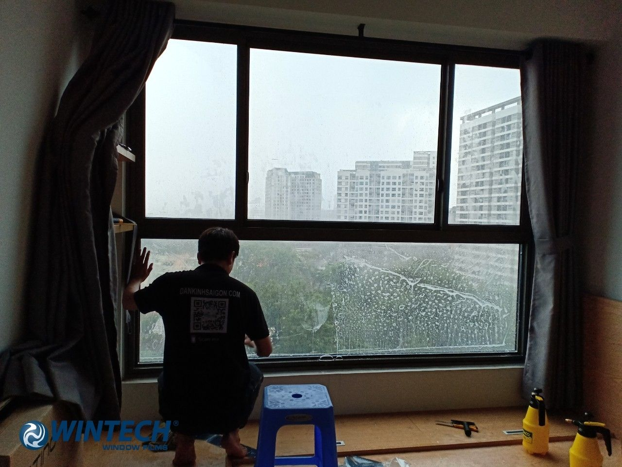 dán phim cách nhiệt nhà kính tại Hà Nội