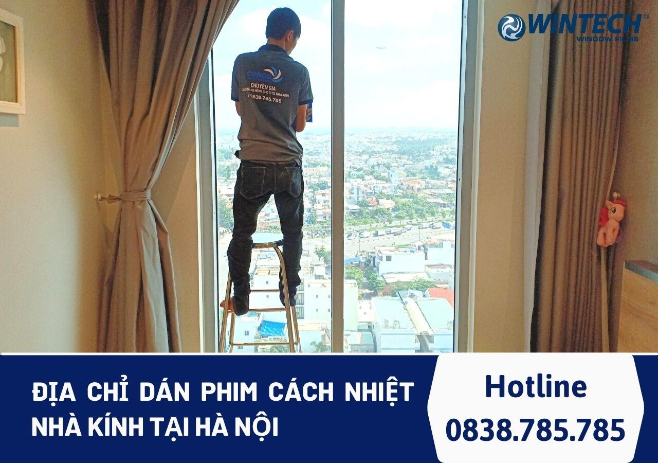 dán phim cách nhiệt tại Hà Nội