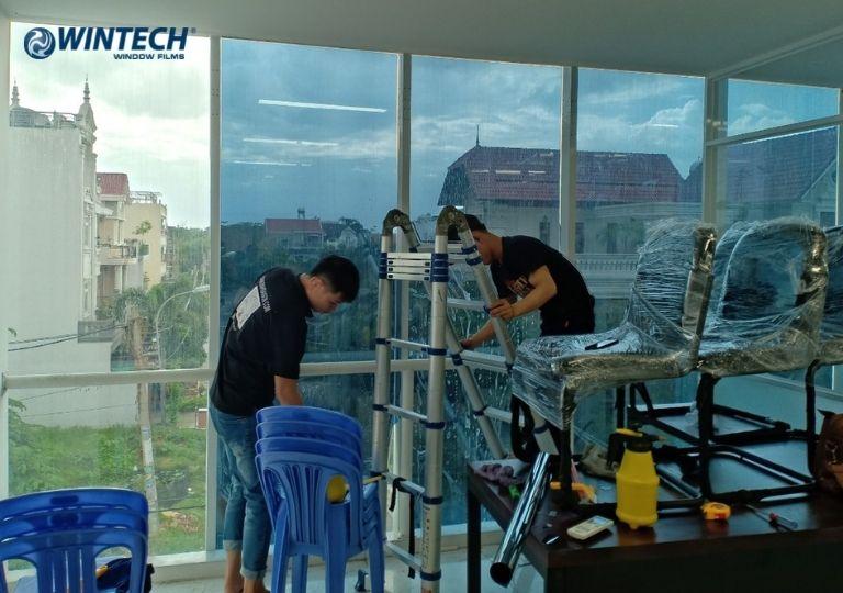 dán phim cách nhiệt văn phòng tại Hà Nội