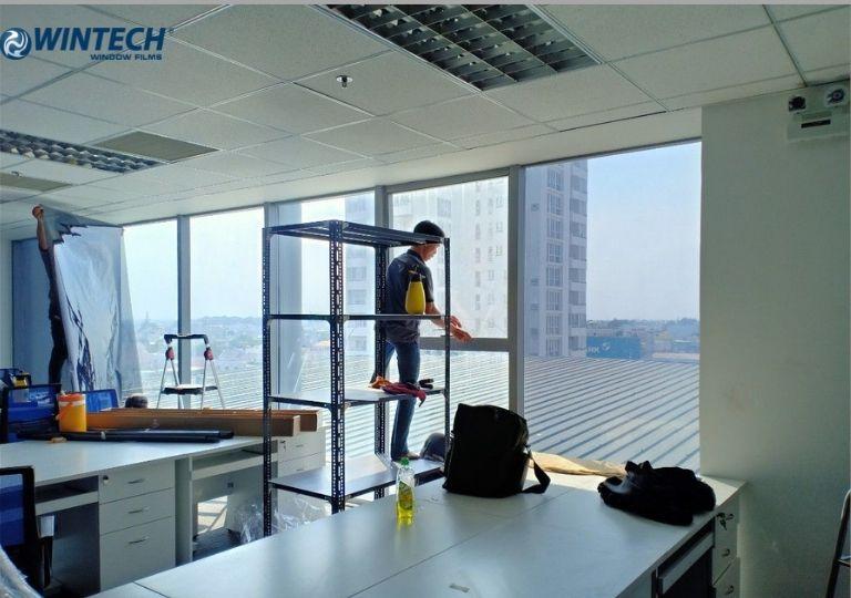 dán phim cách nhiệt văn phòng tại Hà Nam