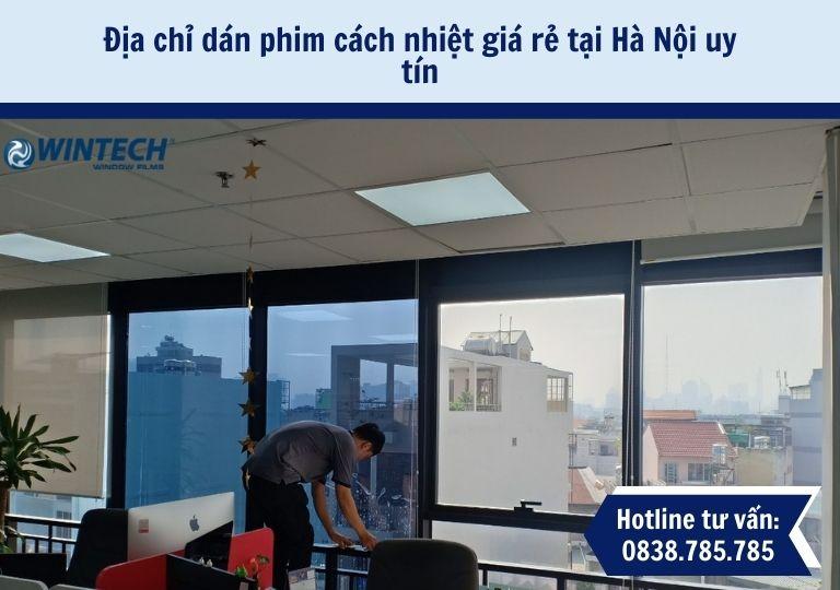 dán phim cách nhiệt giá rẻ tại Hà Nội