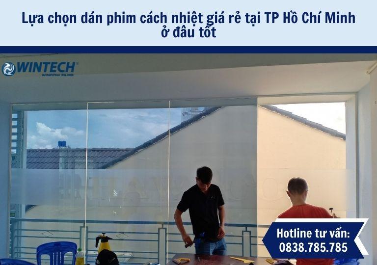 dán phim cách nhiệt giá rẻ tại tp Hồ Chí Minh