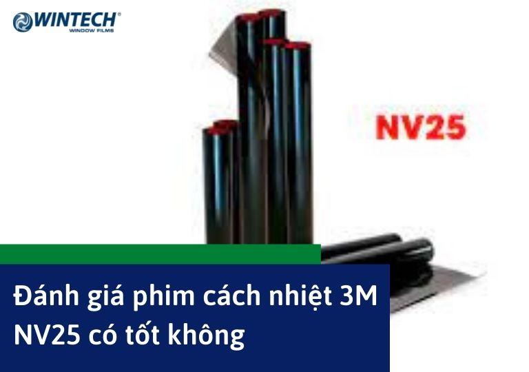 phim cách nhiệt 3M NV25
